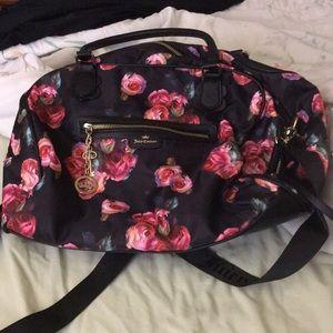 Juicy couture floral print bag